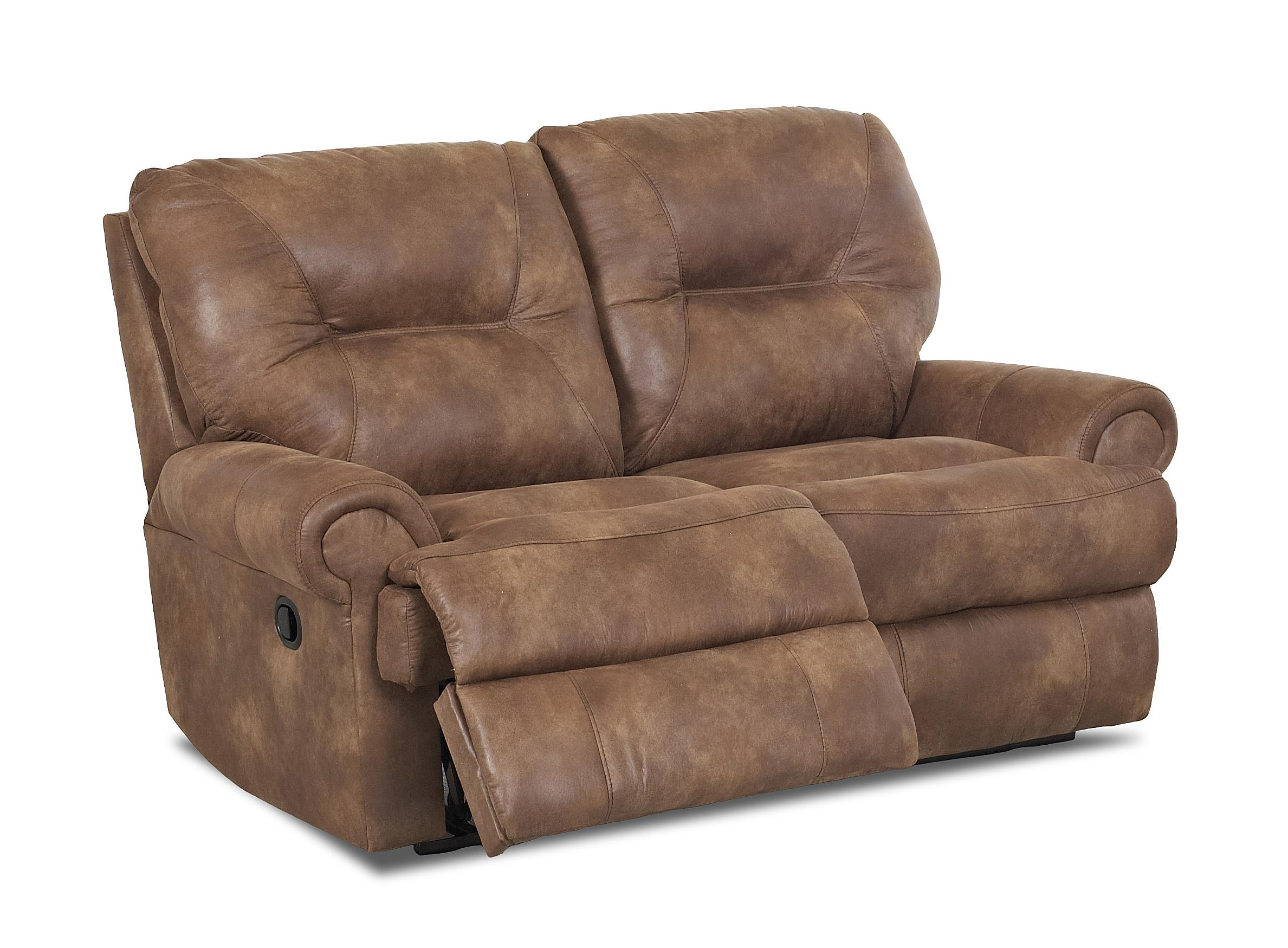 Traditional reclining loveseat by klaussner wolf and for Traditional sofas and loveseats