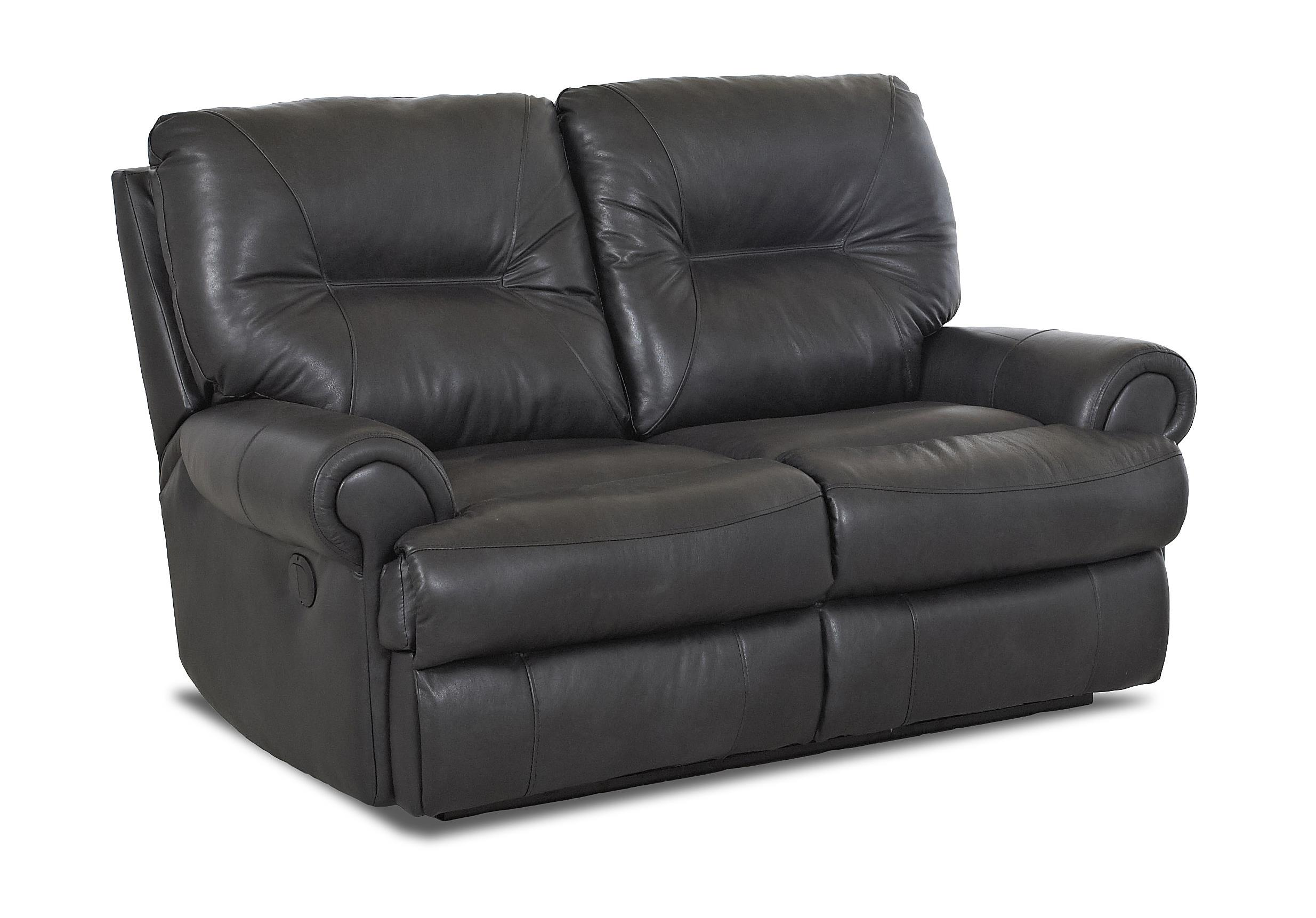 Traditional power reclining loveseat by klaussner wolf for Traditional sofas and loveseats