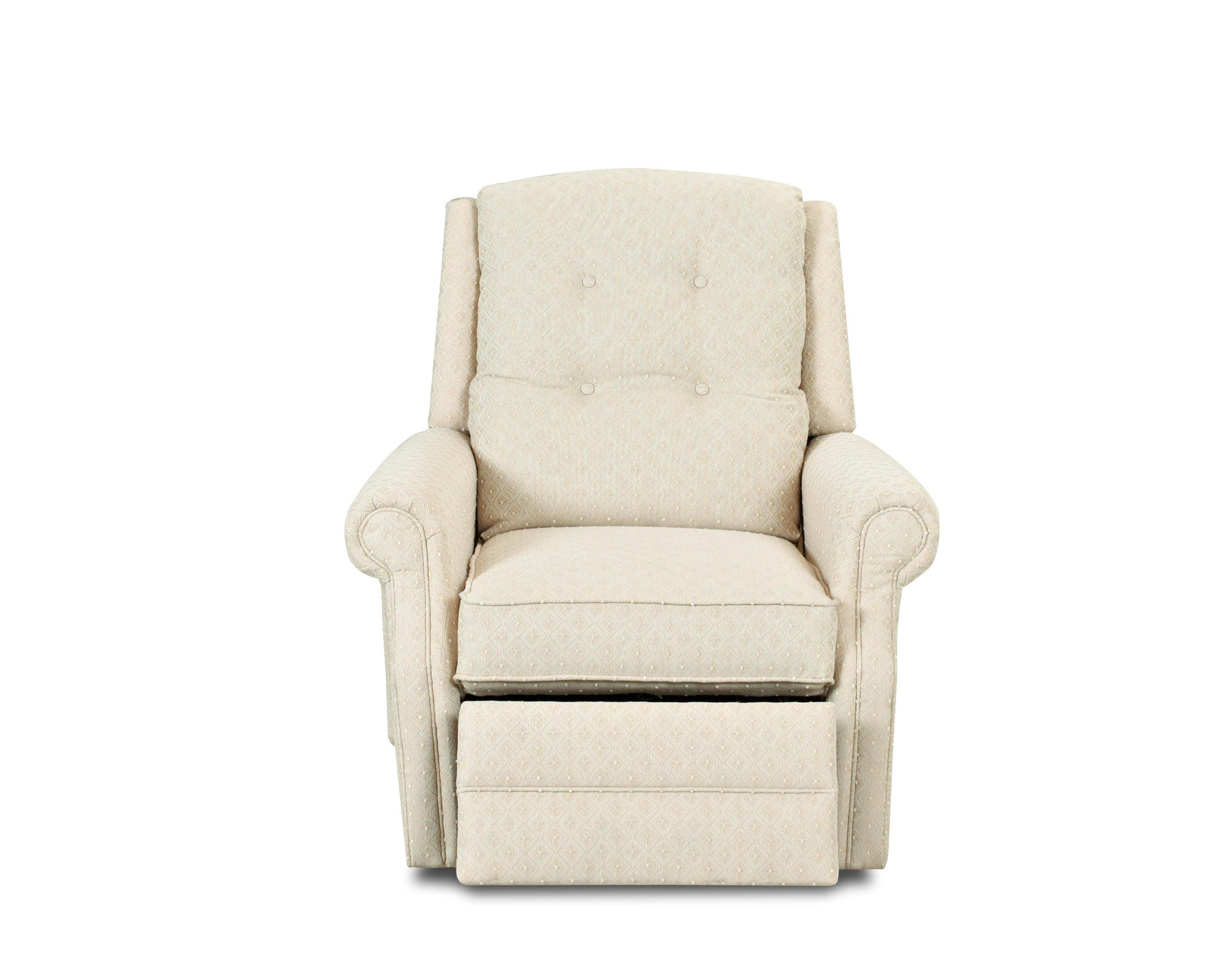 Wonderful image of Transitional Manual Swivel Rocking Reclining Chair with Button Tufting  with #816F4A color and 3000x2400 pixels
