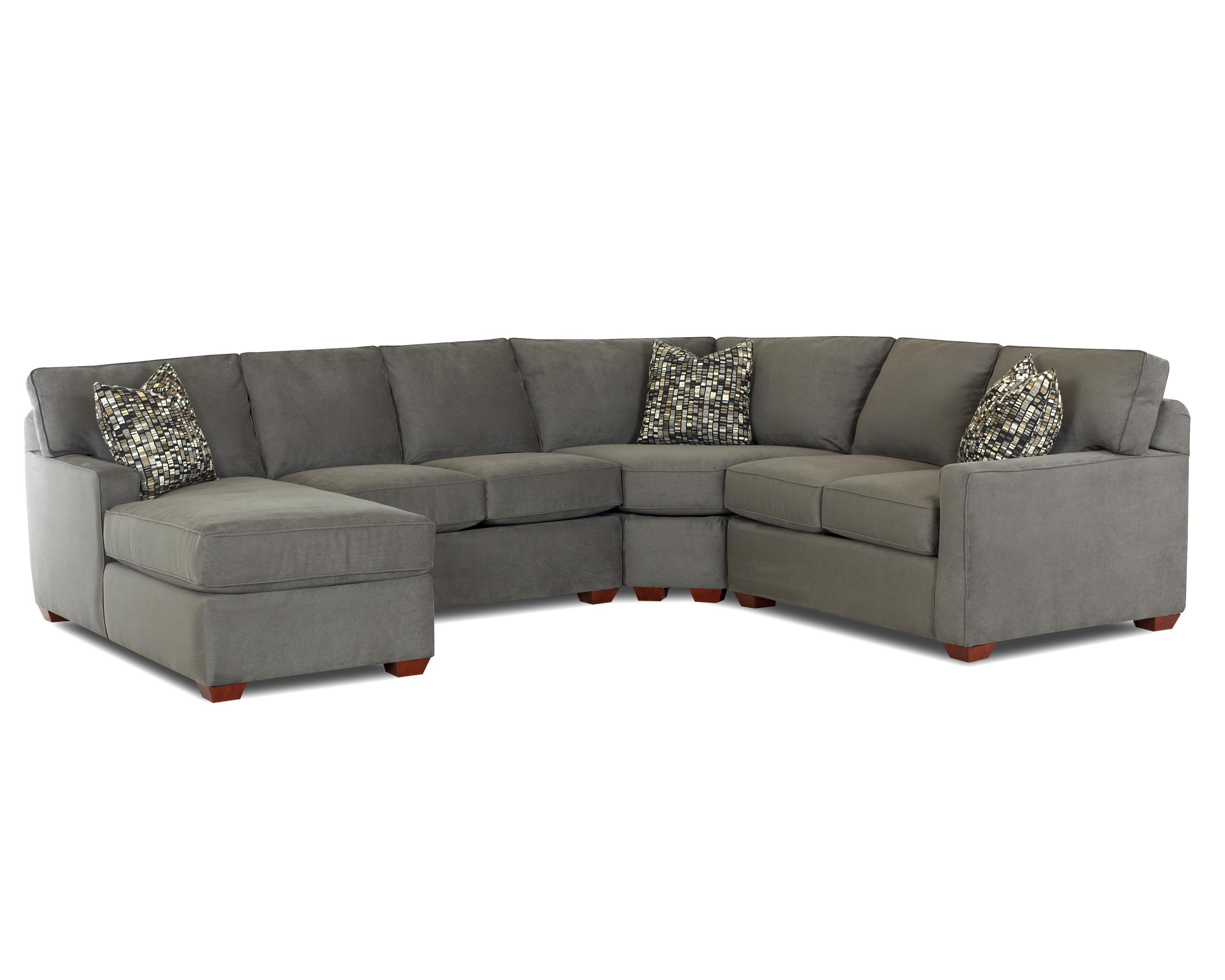 Contemporary l shaped sectional sofa with left arm facing for Sofa with only one arm