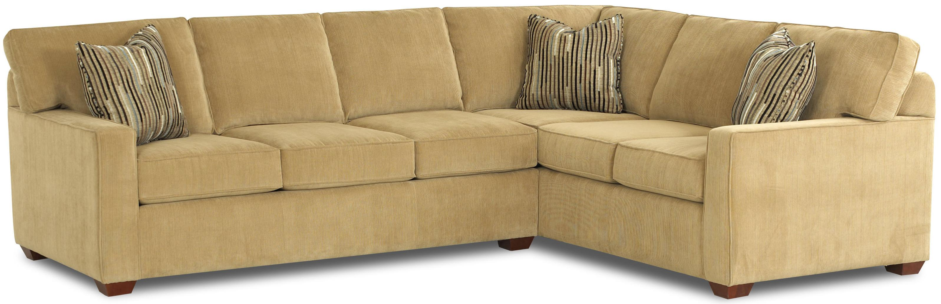 L shaped contemporary sectional sofa by klaussner wolf for S shaped sectional sofa