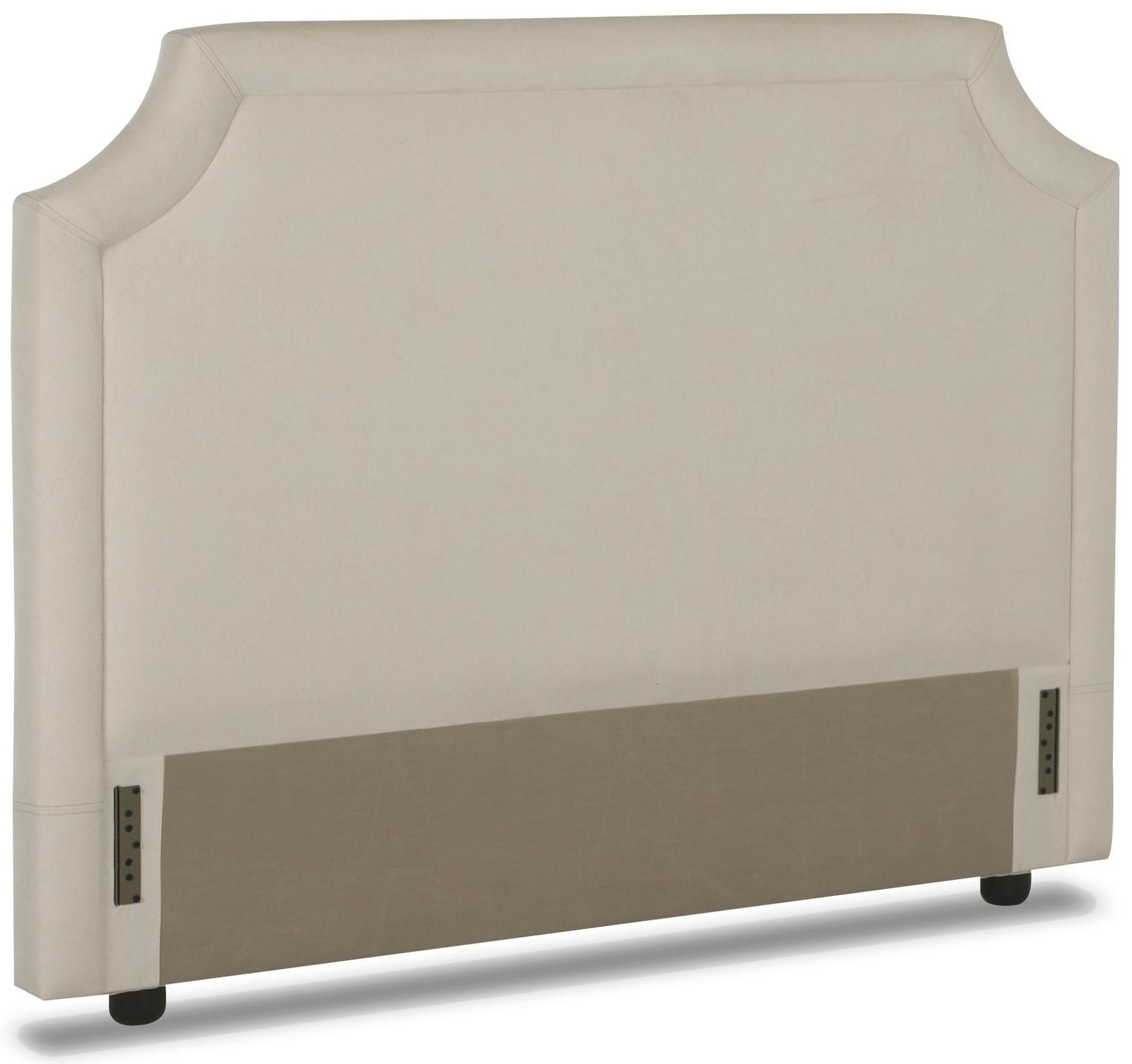 Full upholstered headboard with tufted trim by klaussner for Full headboard
