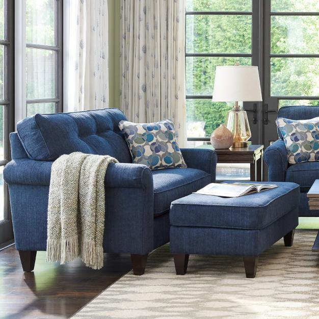 Oversized Chair And Ottoman Set By La Z Boy Wolf Furniture