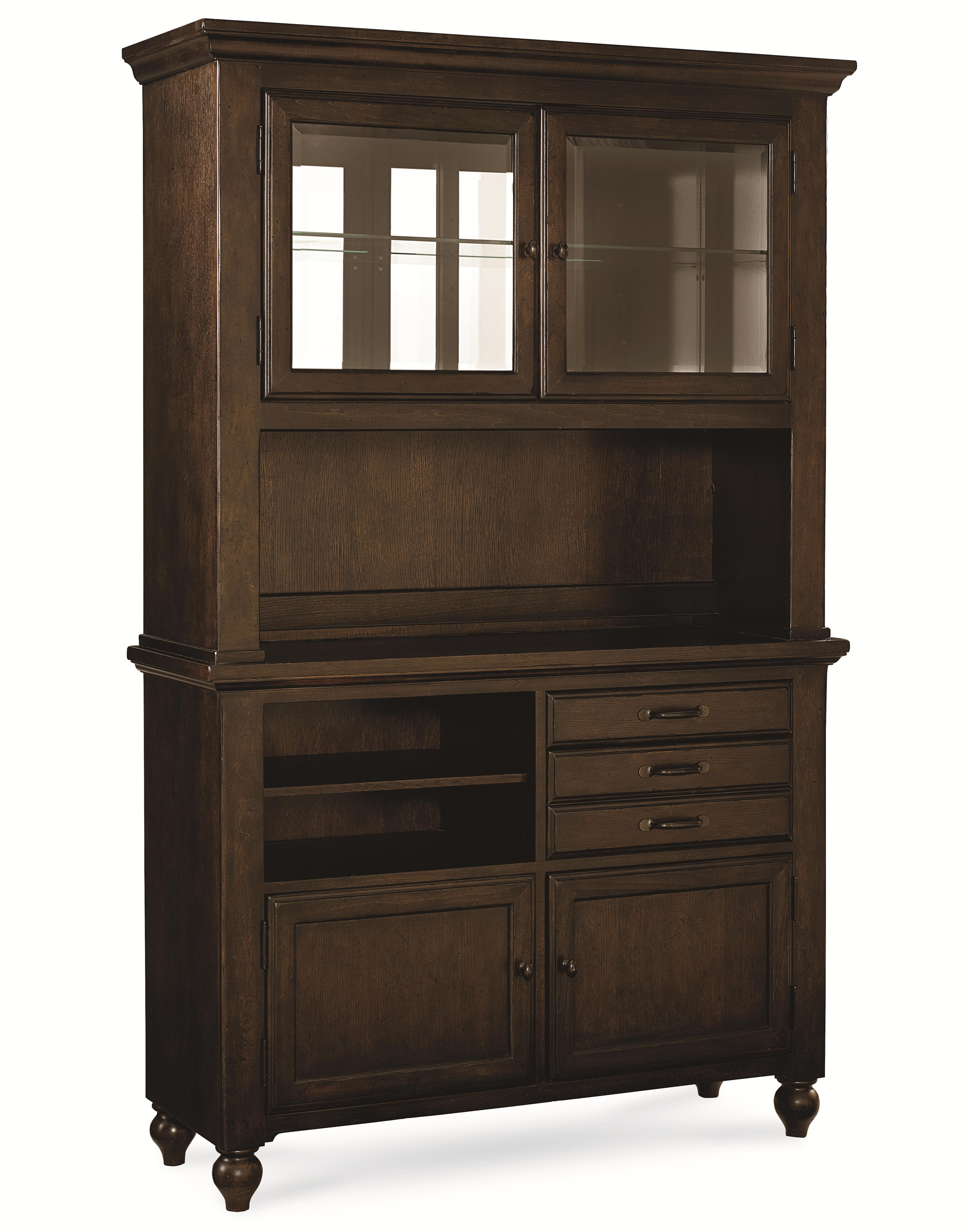 complete china cabinet with mirrored back and wine storage by legacy classic wolf and gardiner. Black Bedroom Furniture Sets. Home Design Ideas
