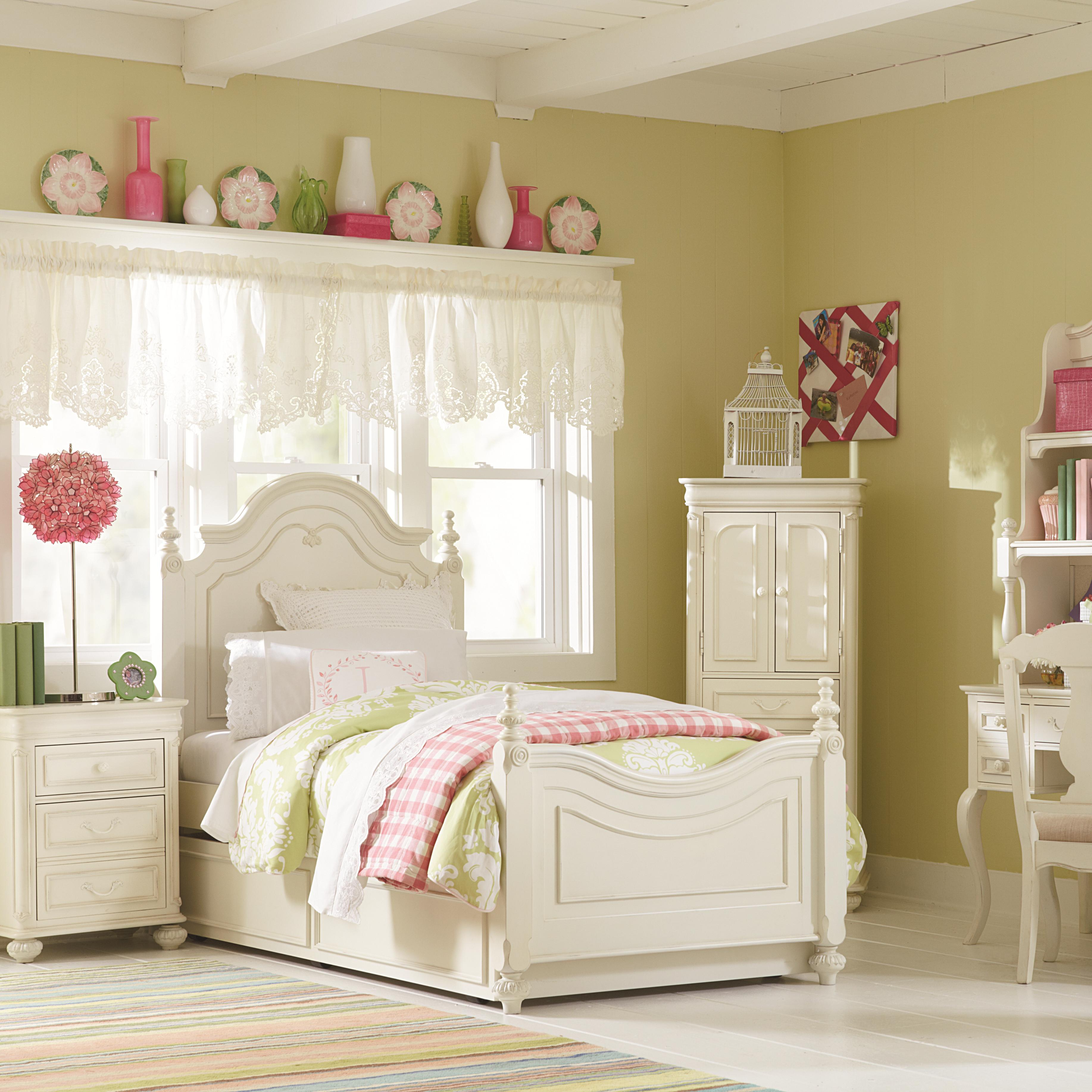 Wardrobe With 2 Doors And Hidden Bottom Drawer By Legacy Classic Kids Wolf And Gardiner Wolf