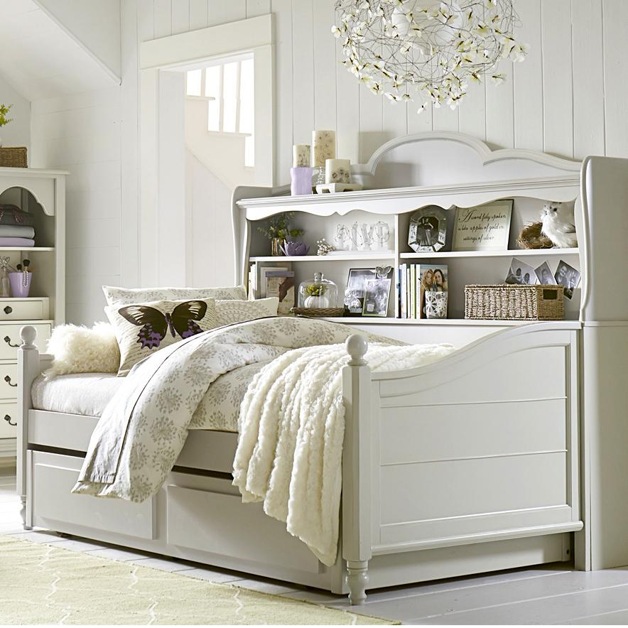 Twin Westport Bookcase Daybed With Trundle Storage Drawer