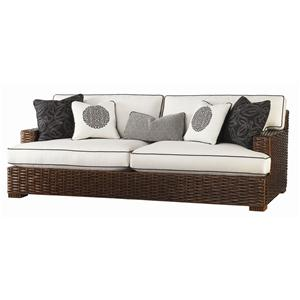 Broyhill furniture maddie 6517 2 apartment sofa baer 39 s for Asian furniture tampa