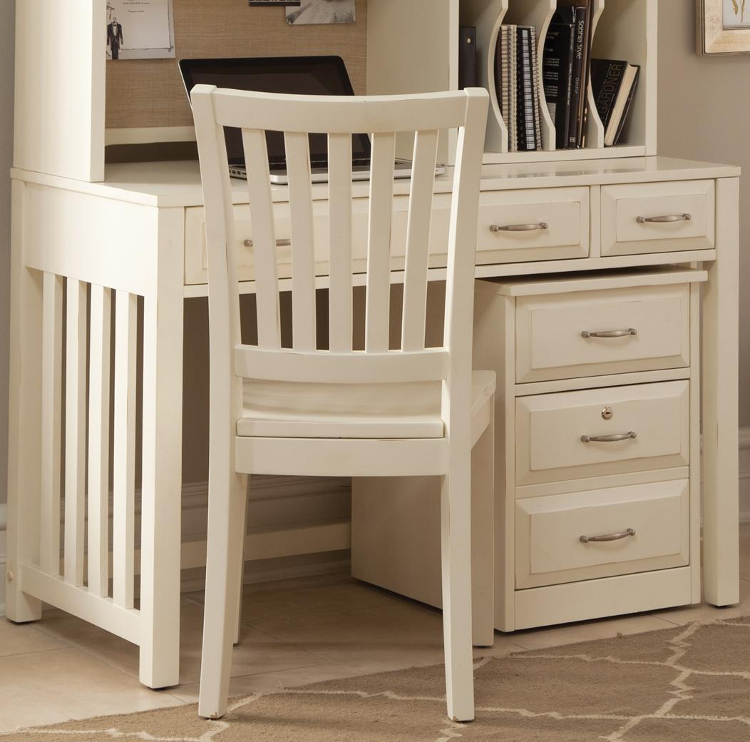 writing desk with drawers by liberty furniture wolf and. Black Bedroom Furniture Sets. Home Design Ideas