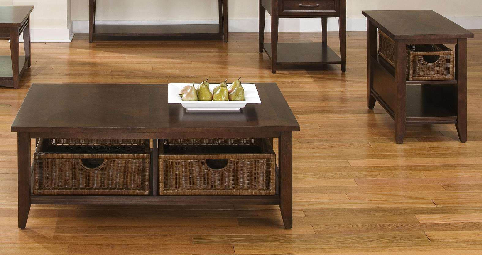 Basket coffee table and end table set by liberty furniture for Coffee tables york pa