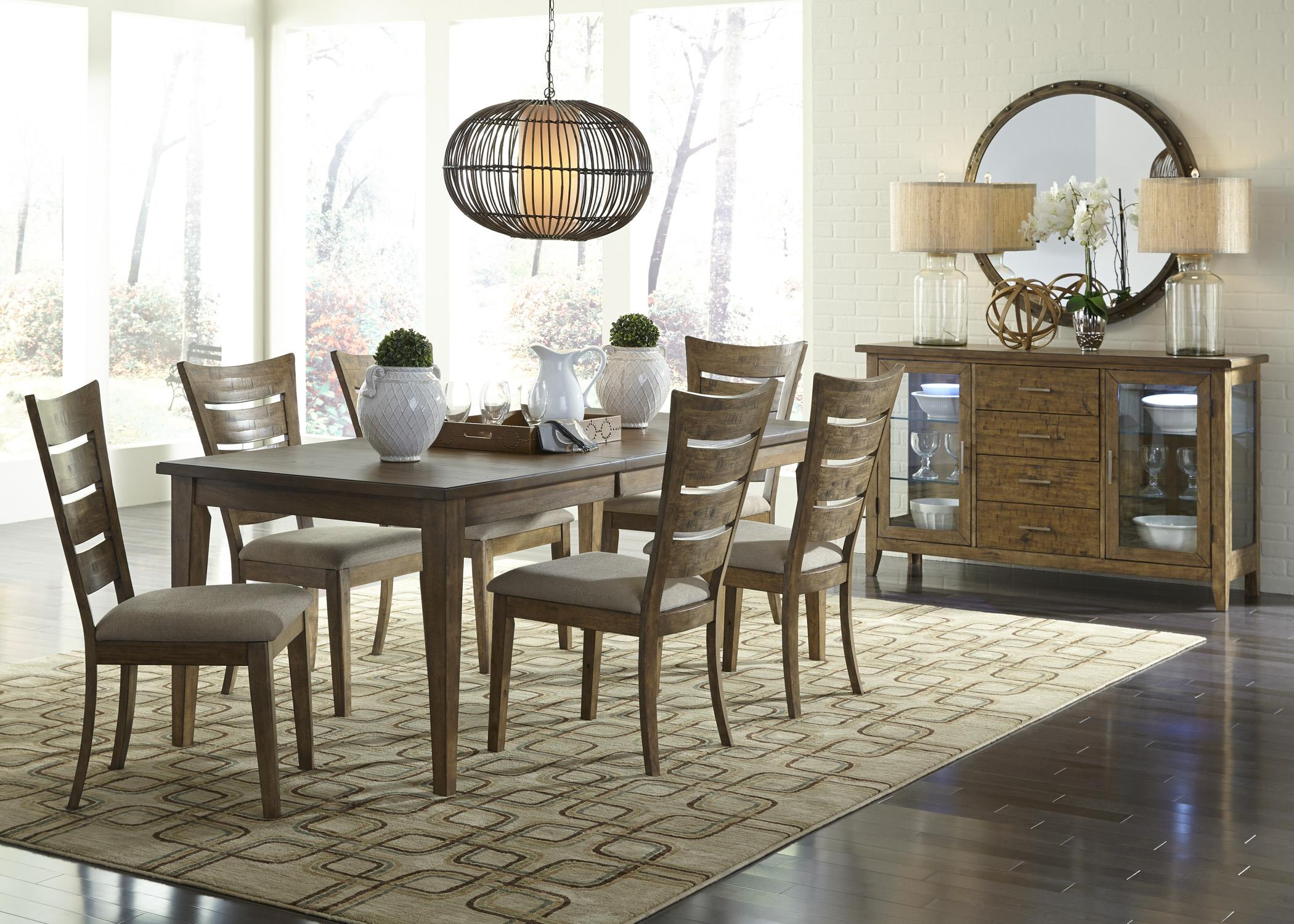 Casual dining room group by liberty furniture wolf and for Casual dining room photos