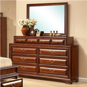 Lifestyle B1172 Queen Bedroom Group Ivan Smith Furniture