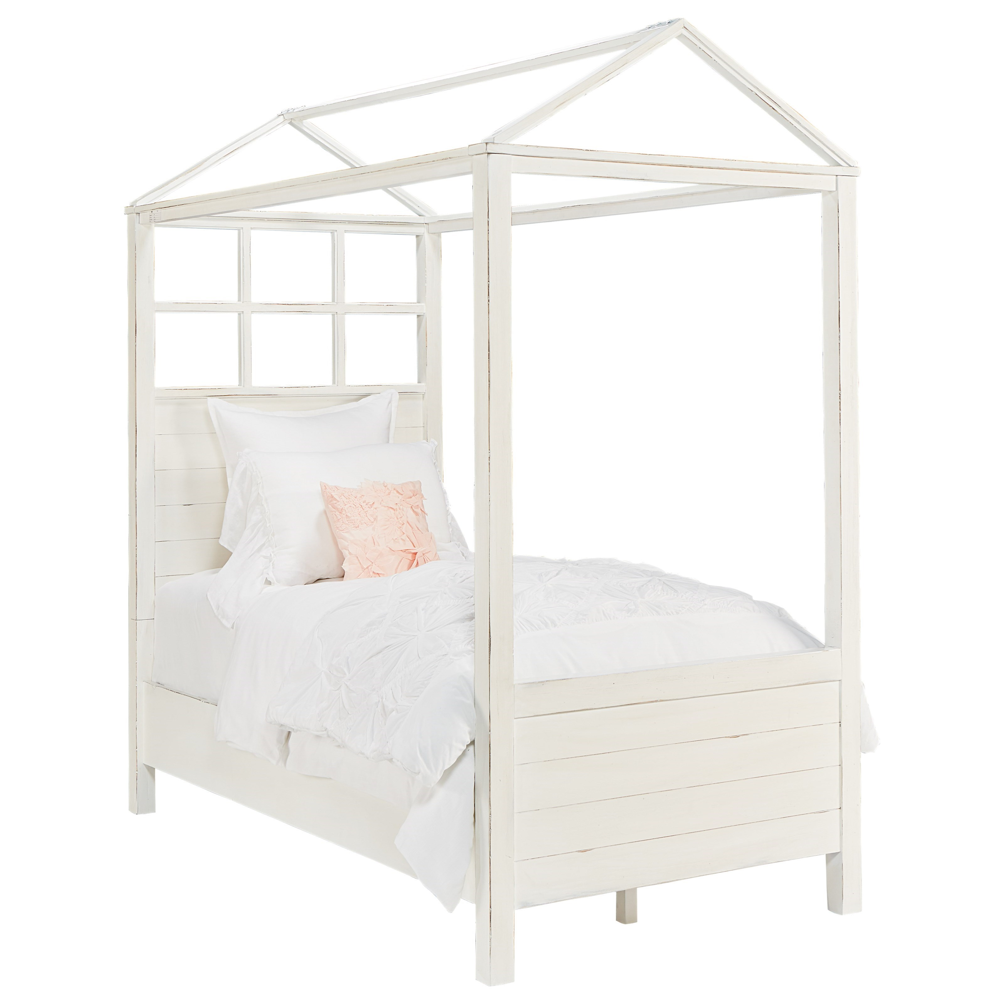 Playhouse Twin Canopy Bed By Magnolia Home By Joanna Gaines Wolf And Gardiner Wolf Furniture