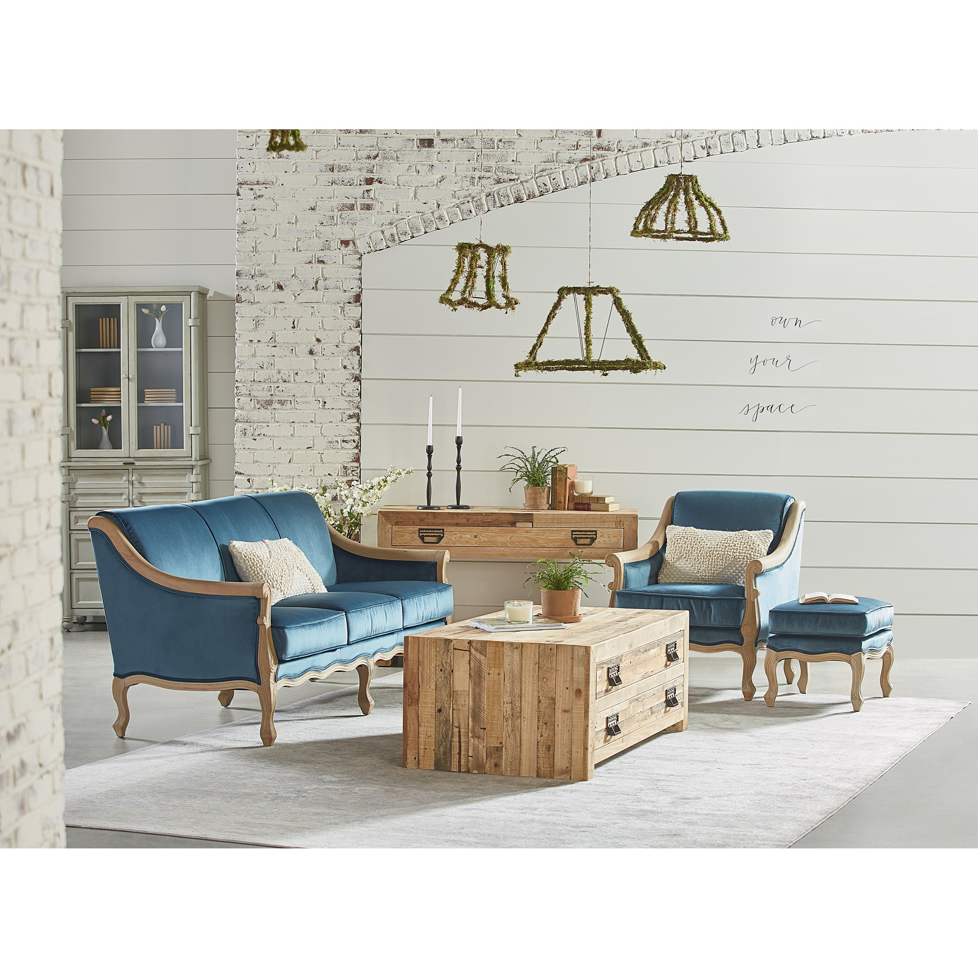 Mclennan living room group by magnolia home by joanna for Living room designs by joanna gaines