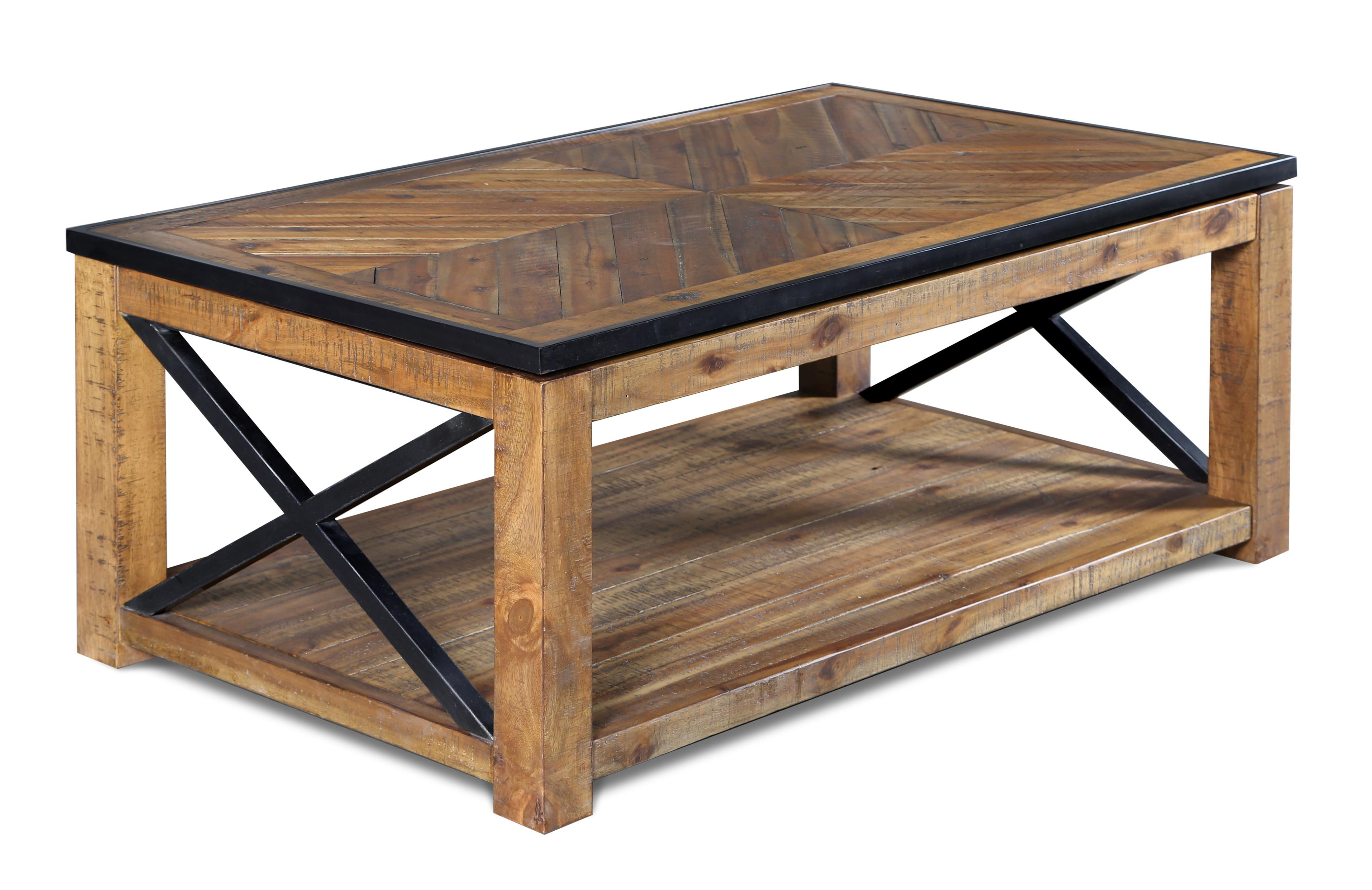 Rectangular lift top cocktail table by magnussen home for Coffee tables york pa