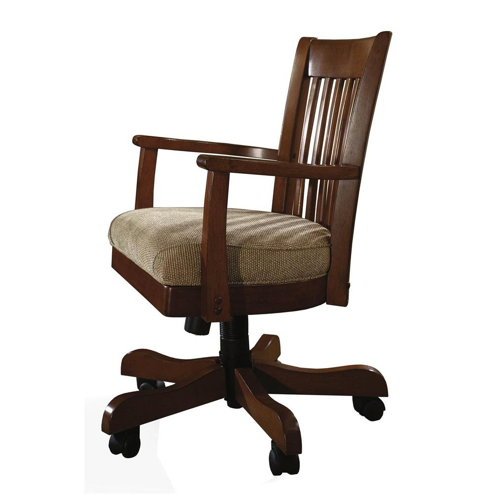 Swivel desk chair by riverside furniture wolf and for Furniture 2 u