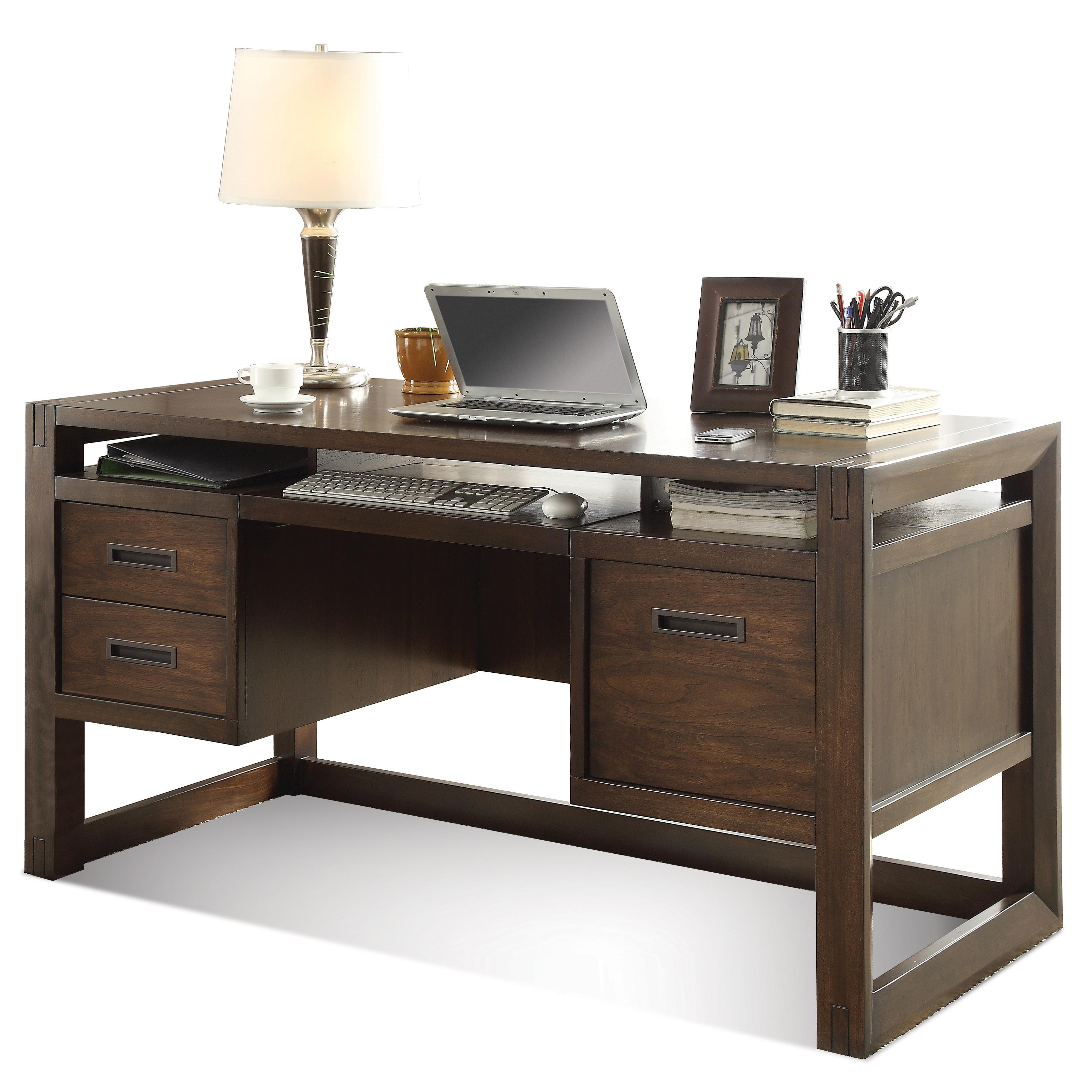 Contemporary puter Desk by Riverside Furniture
