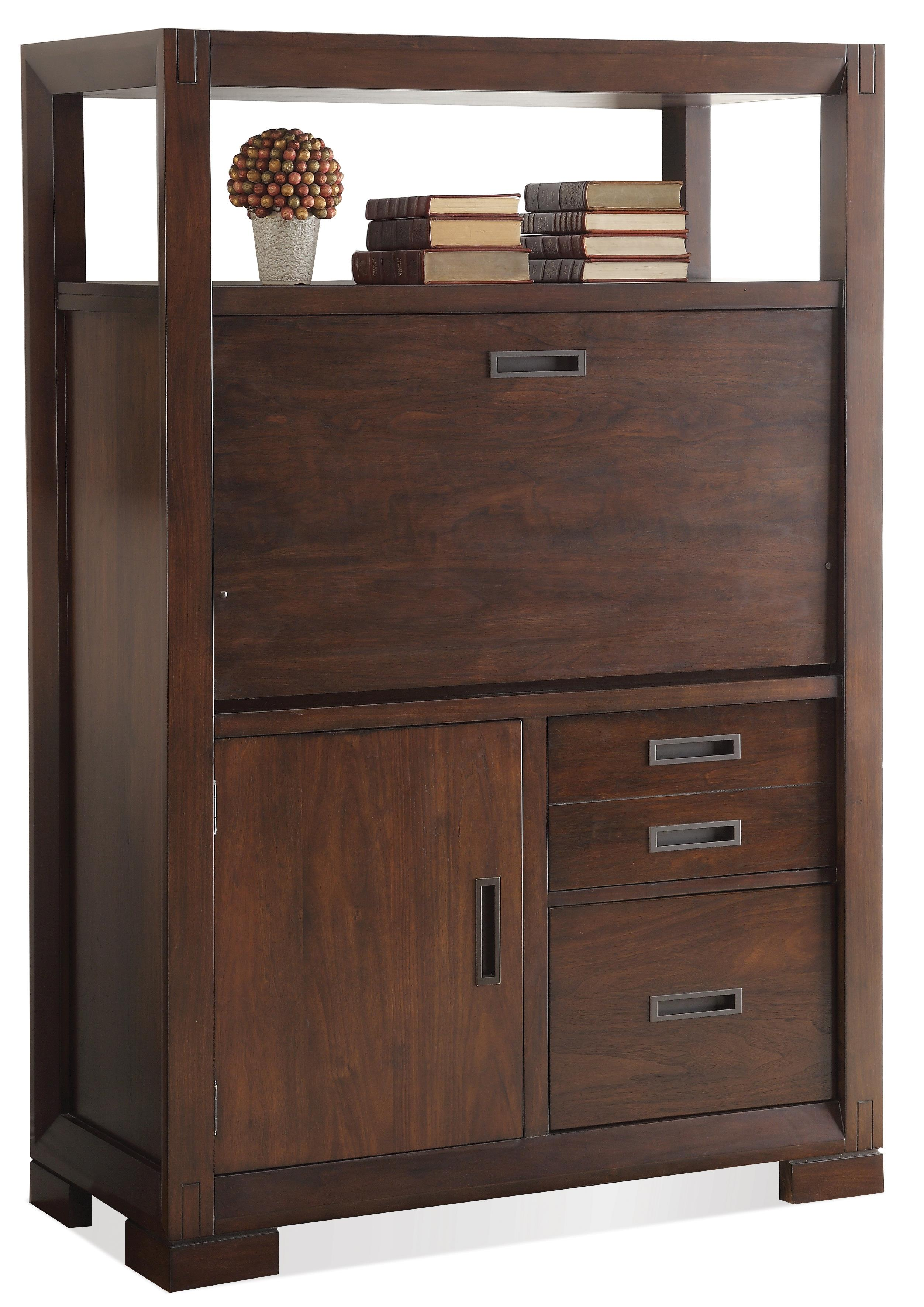 computer armoire w drop front by riverside furniture. Black Bedroom Furniture Sets. Home Design Ideas
