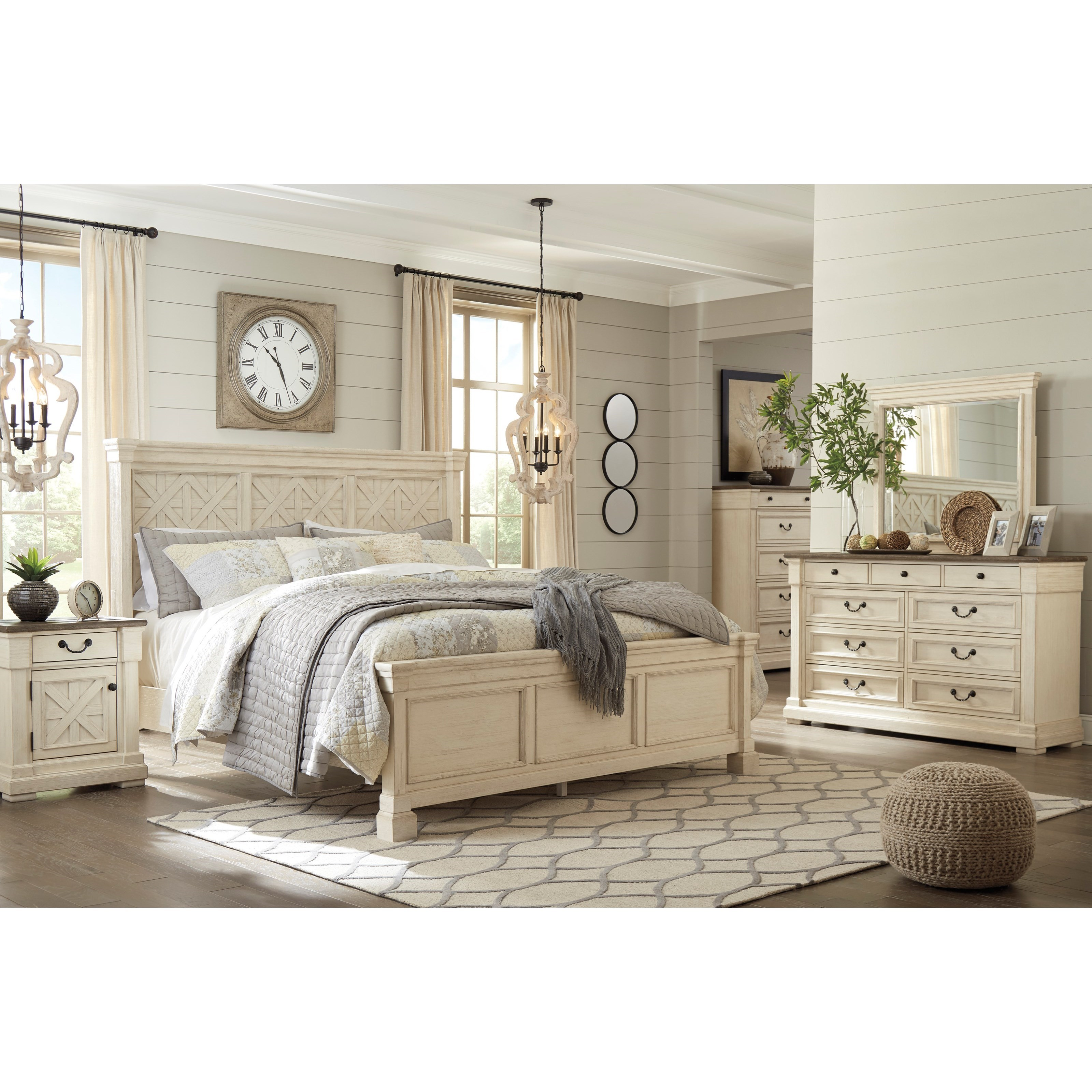 California king bedroom group by signature design by for Bedroom groups