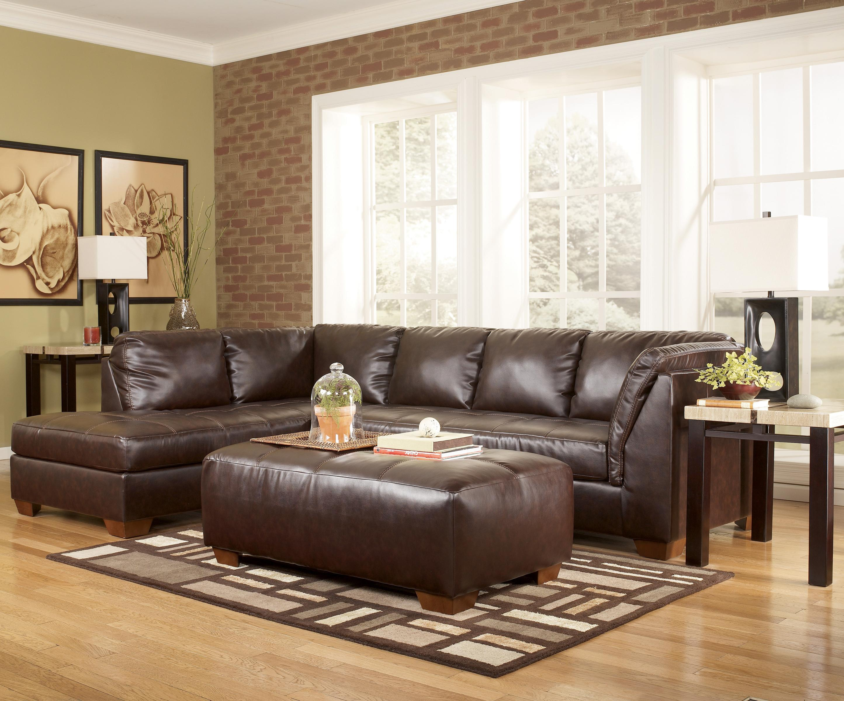 """Contemporary Sectional Sofa in """"L"""" Shape with Left Facing"""