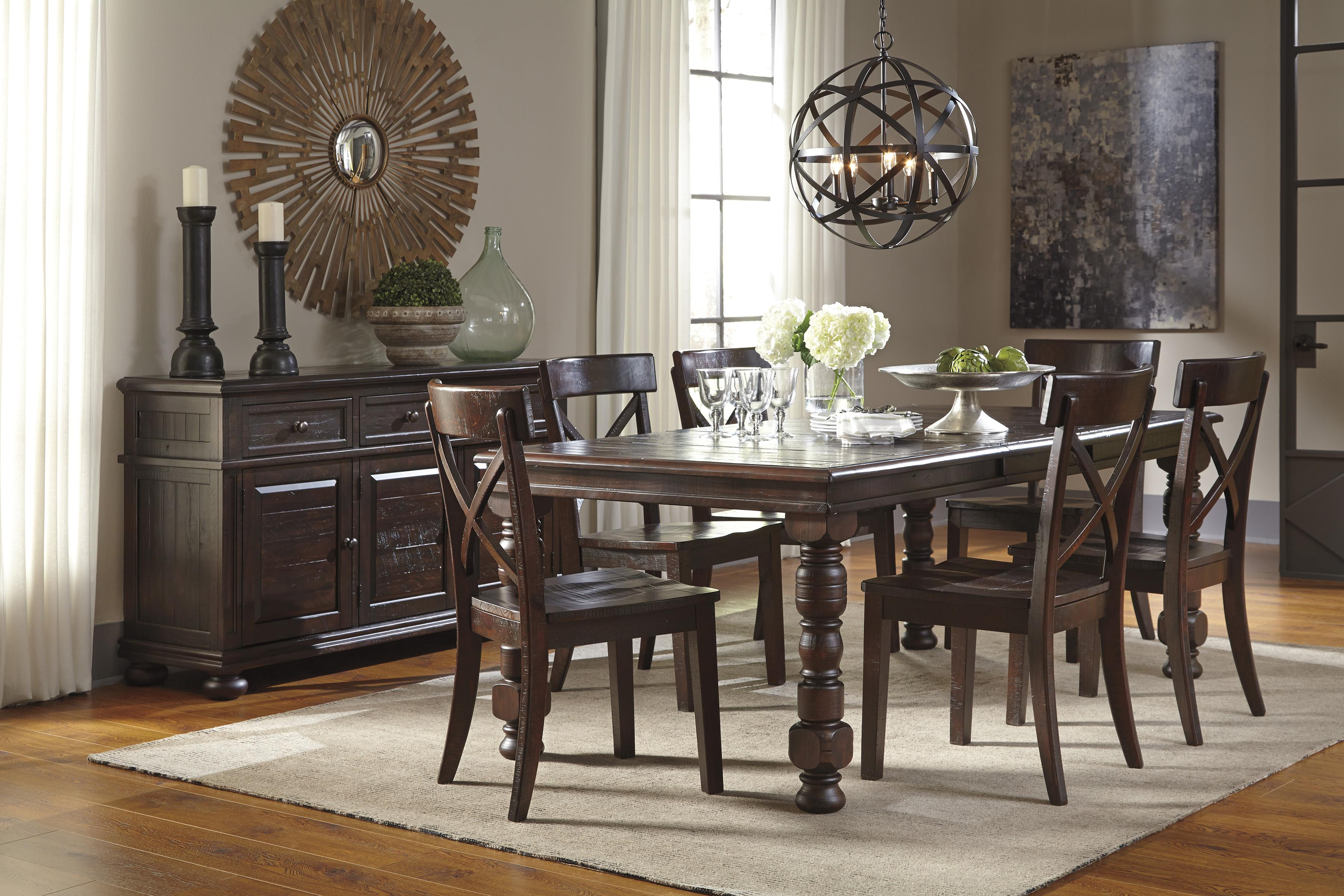 Solid Pine Dining Room Server by Signature Design by