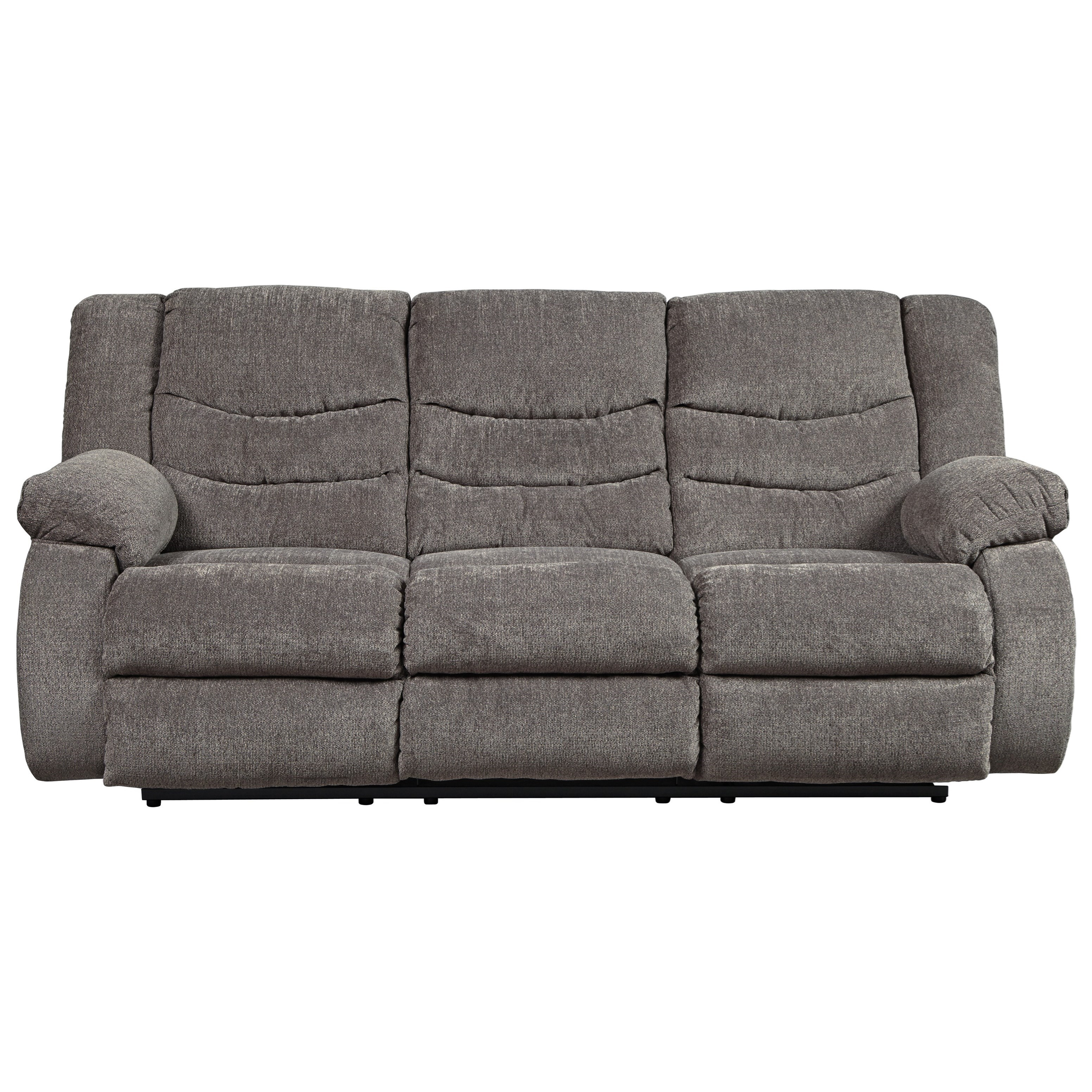 contemporary reclining sofa by signature design by ashley wolf and gardiner wolf furniture. Black Bedroom Furniture Sets. Home Design Ideas
