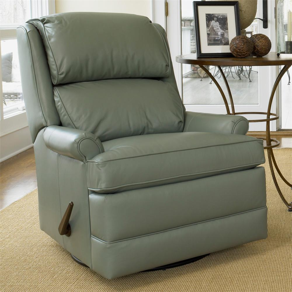 Swivel Glider Recliner By Smith Brothers Wolf And