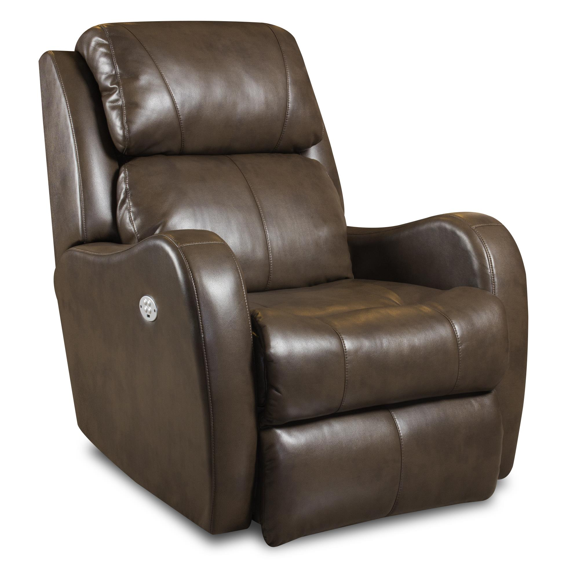 Siri Wall Hugger Recliner With Power Headrest By Southern