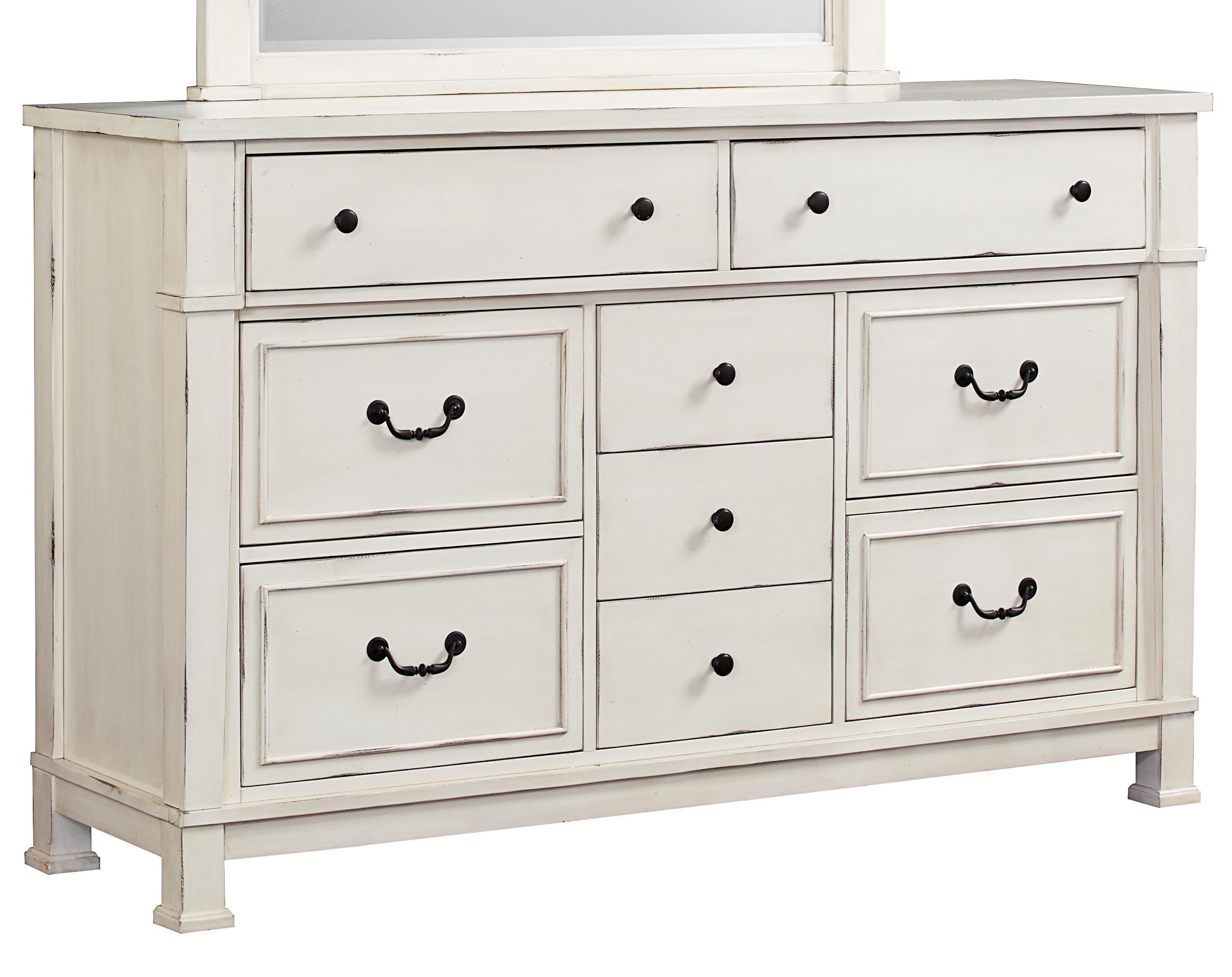 Vintage White Dresser By Standard Furniture Wolf And Gardiner Wolf Furniture