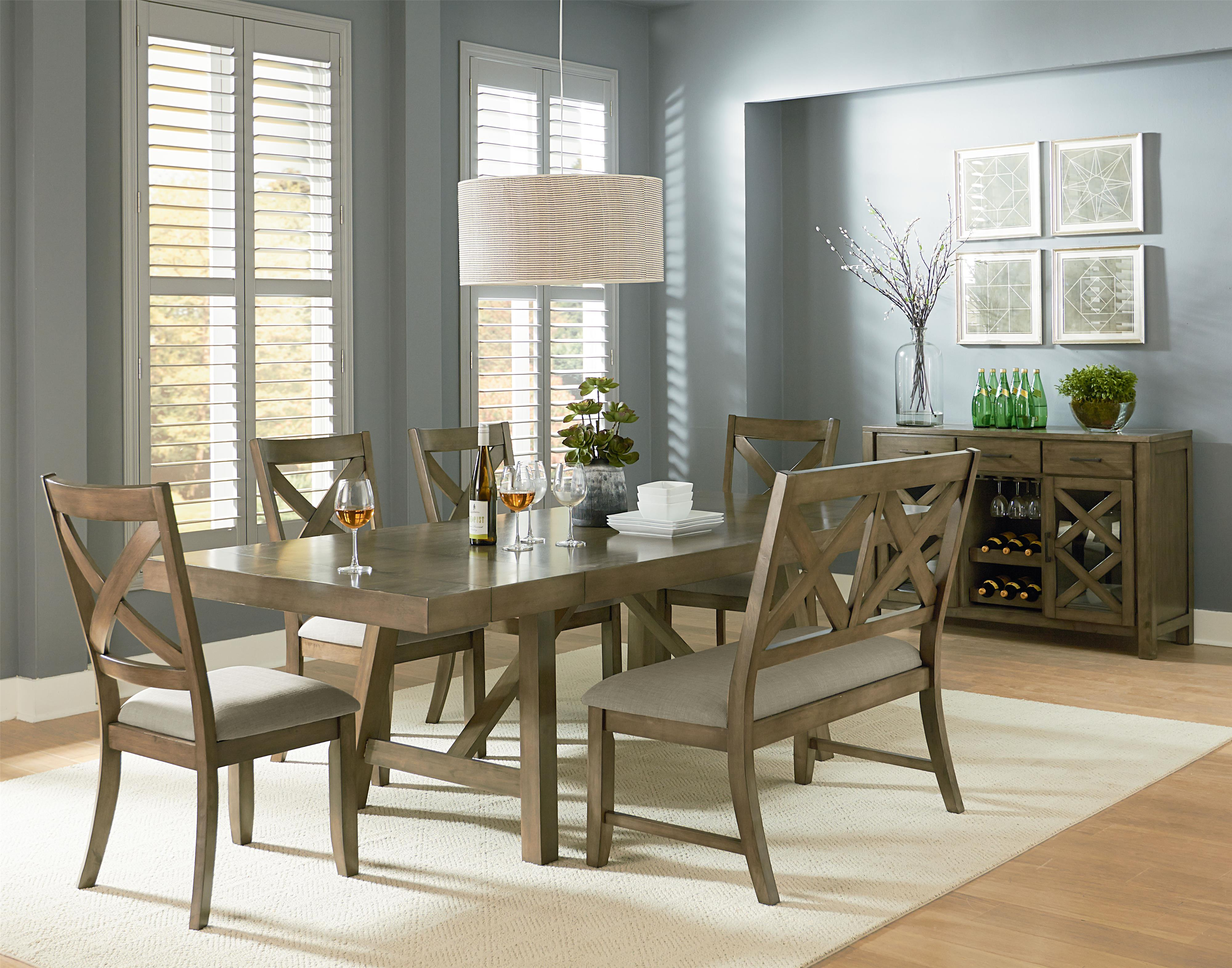 casual dining room group by standard furniture wolf and. Black Bedroom Furniture Sets. Home Design Ideas