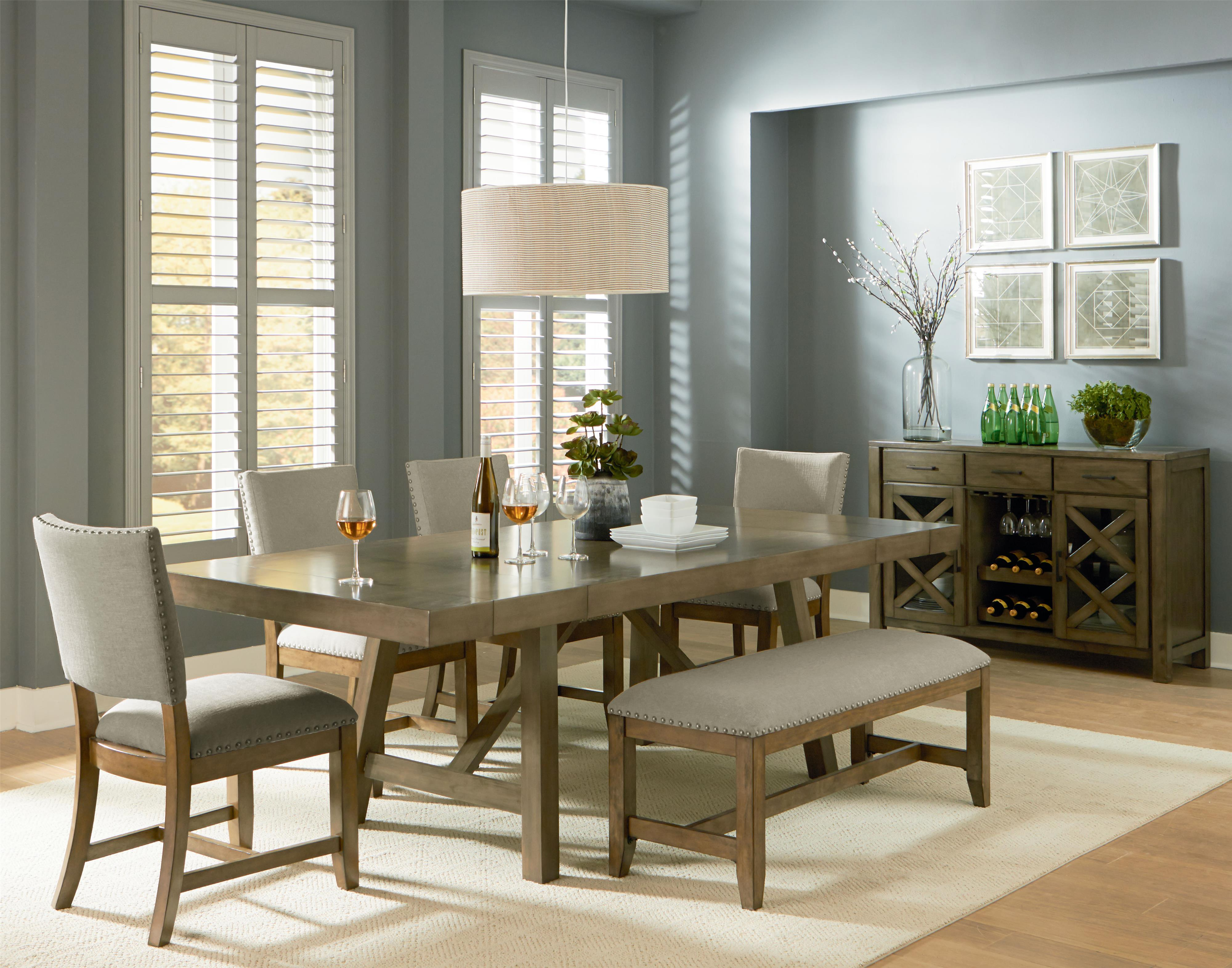 Casual dining room group by standard furniture wolf and for Informal dining