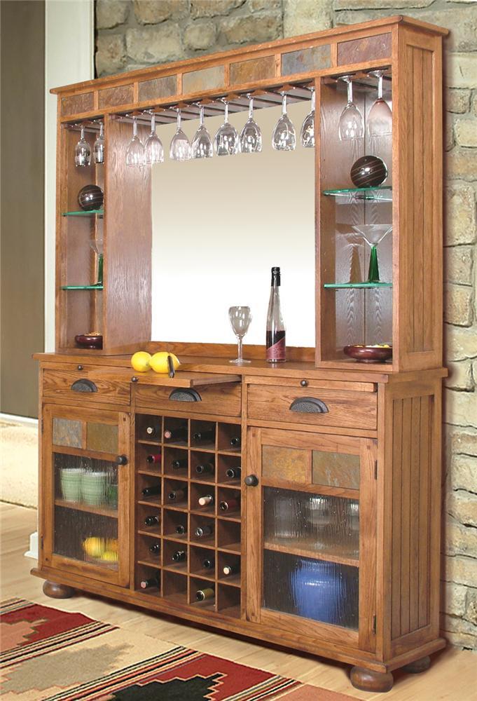 back bar server by sunny designs wolf and gardiner wolf furniture. Black Bedroom Furniture Sets. Home Design Ideas