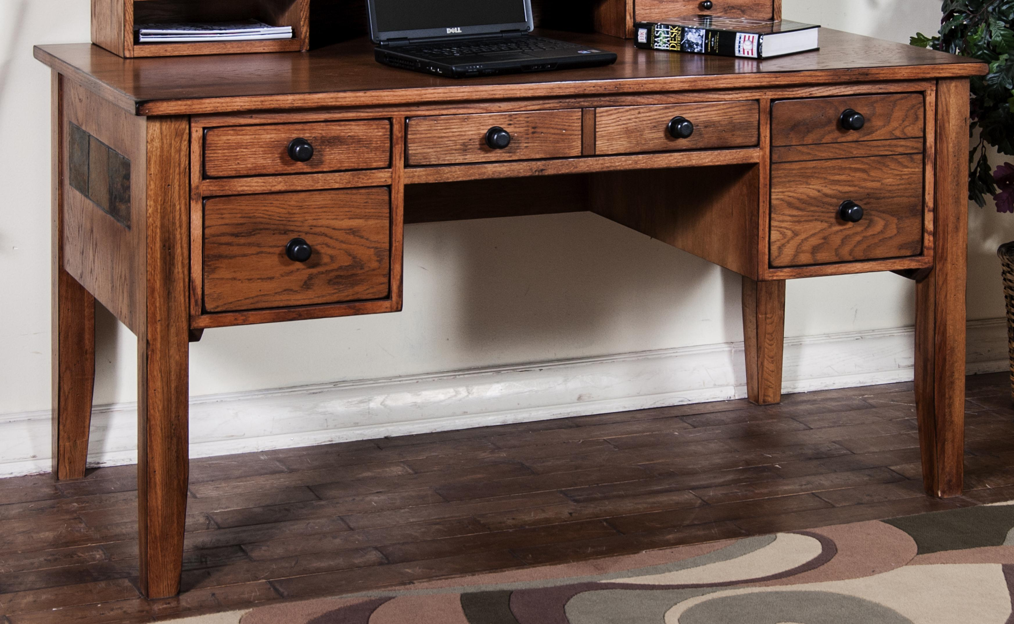 writing desk with keyboard drawer by sunny designs wolf and gardiner wolf furniture. Black Bedroom Furniture Sets. Home Design Ideas