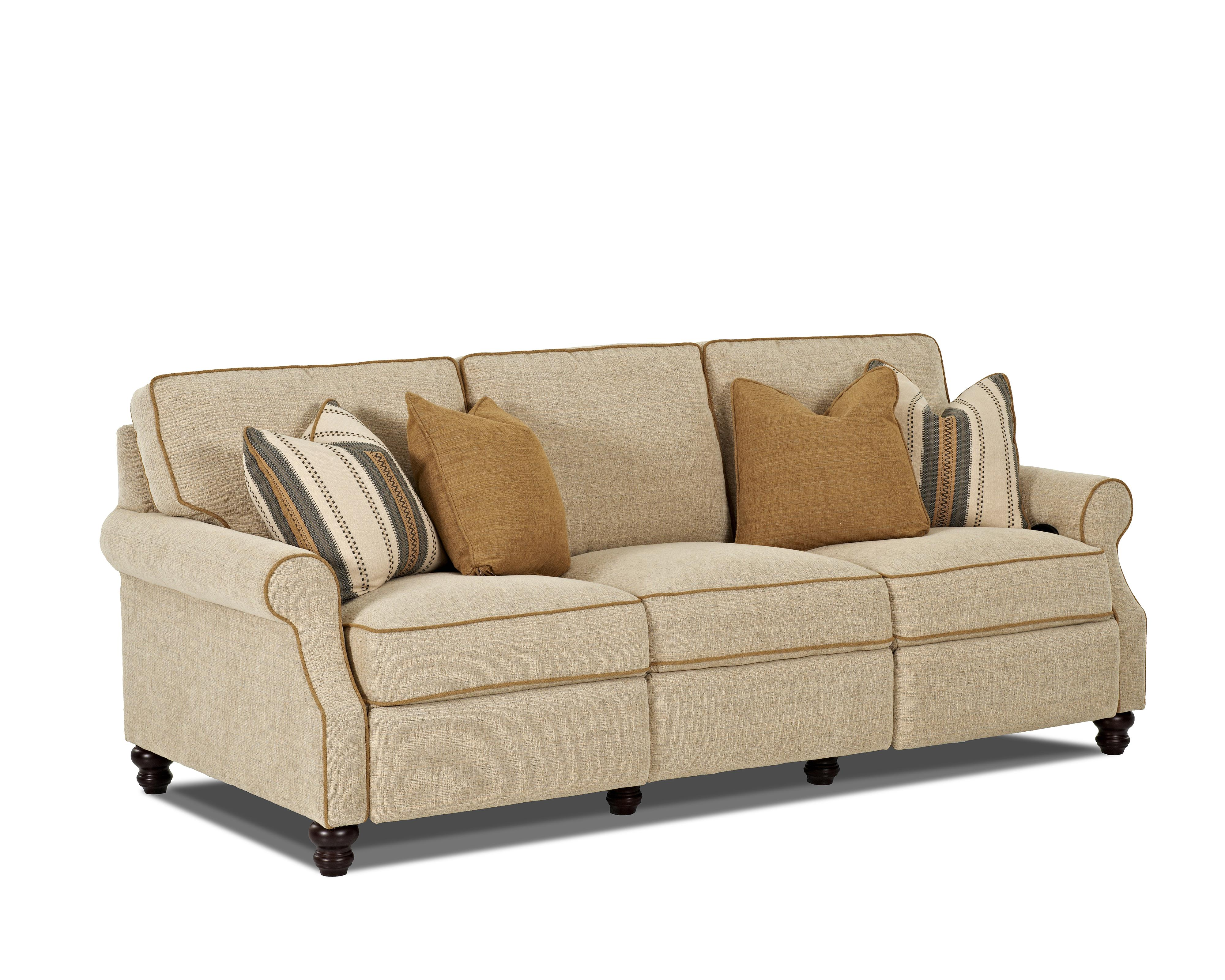 Traditional power hybrid sofa by trisha yearwood home for Traditional couches