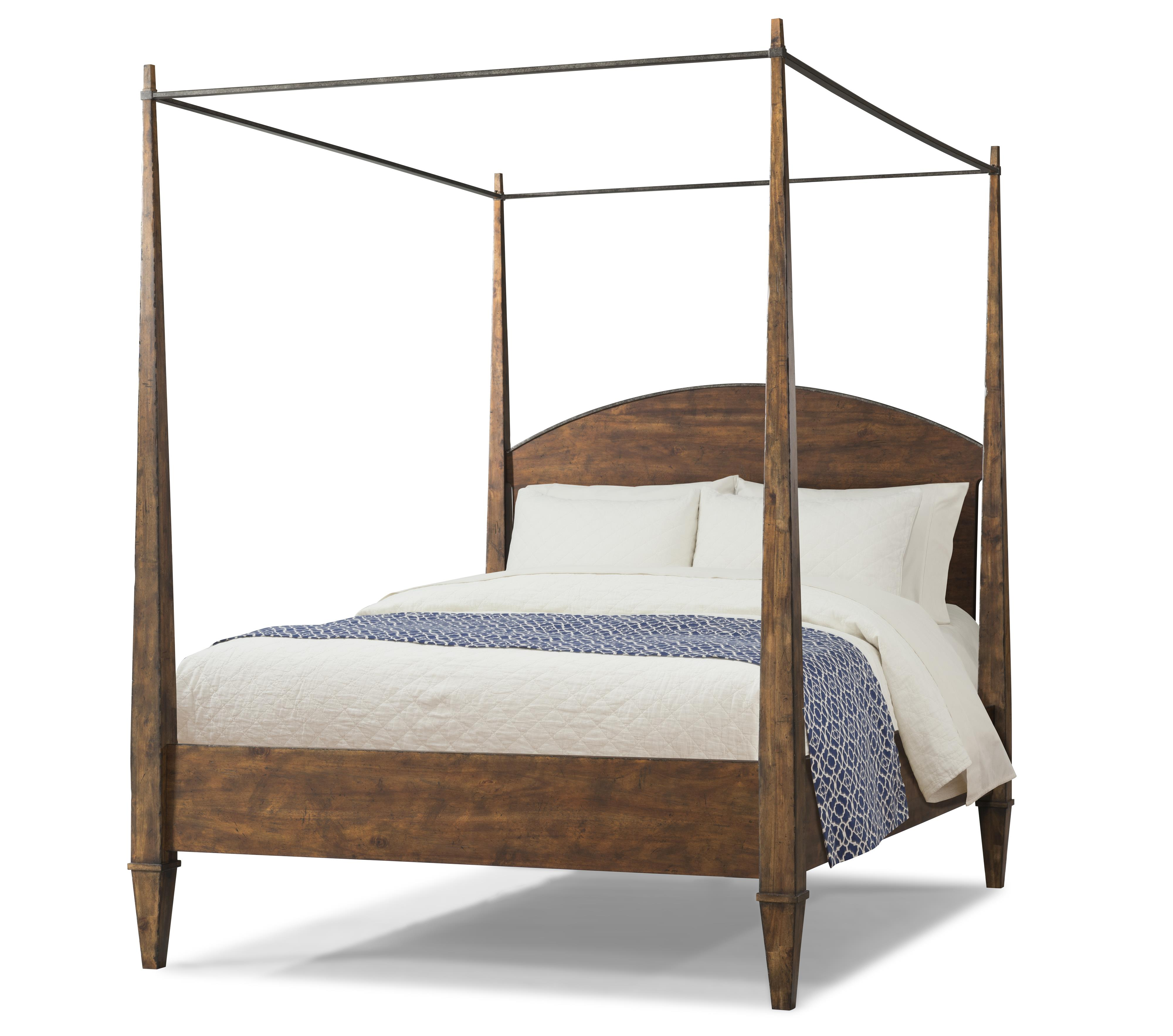 Queen Canopy Bed By Trisha Yearwood Home Collection By
