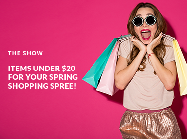 Items Under $20 for Your Spring Shopping Spree!