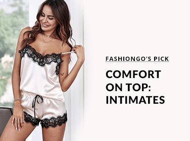 Comfort on Top: Intimates