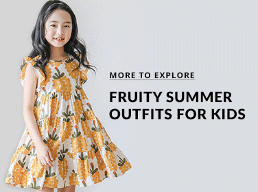 Fruity Summer Outfits for Kids