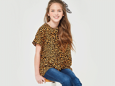 Leopard Print Outfits for Kids