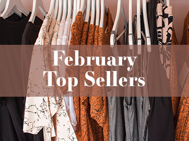 February Top Sellers
