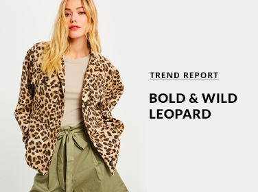 Bold and Wild Leopard