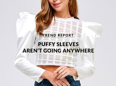 Puff-Sleeves Aren't Going Anywhere