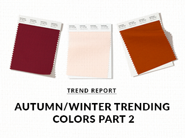 Autumn/Winter Trending Colors Part 2