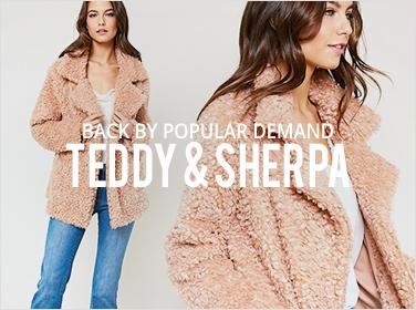 Buyers' Pick: Teddy & Sherpa