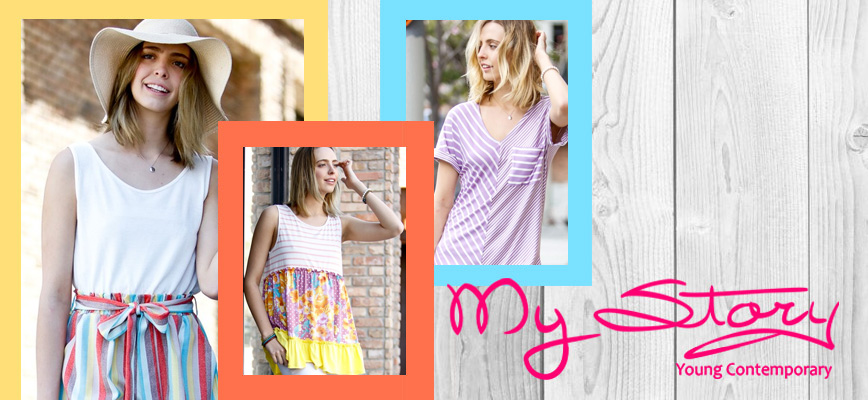 0c4abbdb7787 My Story is a leading women s contemporary wholesaler with a long history  in the heart of the Los Angeles Fashion District. Our parent company was  founded ...