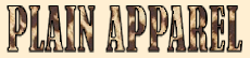 Plain Apparel Tees
