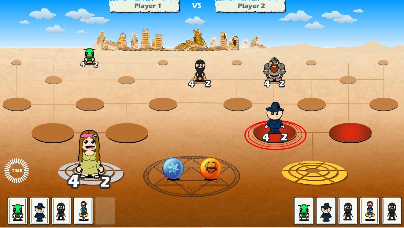 Game Board: Desert World Mindframe Arena
