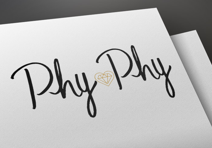 Logo Lettering PhyPhy