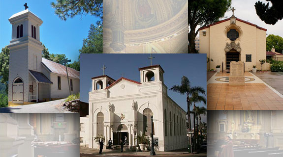 Twelve Churches Not To Miss When You Visit California