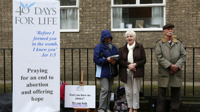 """In the UK, has abortion become a """"Catholic issue"""