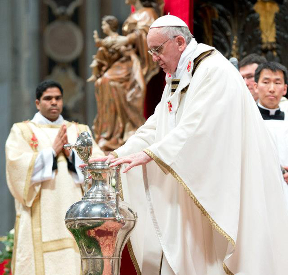 Full text: Pope Francis' Chrism Mass homily – Catholic World